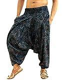 Sarjana Handicrafts - Pantalon - Sarouel - Homme One Size