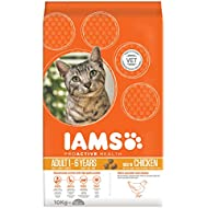 Iams Proactive Health Complete and Balanced Cat Food with Chicken, 10 kg