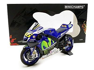 "Minichamps 310.294.136,8cm 2016Yamaha ytz-m1–Moviestar Yamaha MotoGP–Valentino Rossi ""Model Kit, Maßstab: 1: 12 von Minichamps"