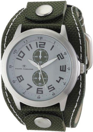 Tom Tailor - 5404105 - Montre Homme - Quartz Analogique - Bracelet Nylon Vert