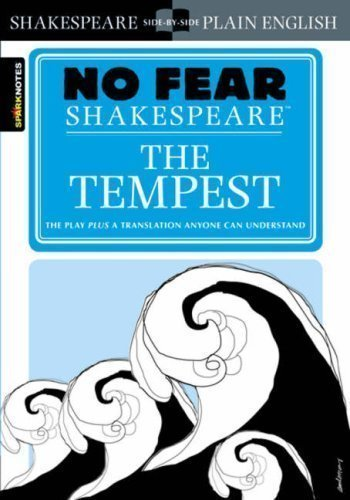 "No Fear Shakespeare: ""The Tempest"" (Sparknotes No Fear Shakespeare) by John Crowther (2004)"