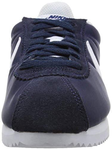 Nike Wmns Classic Cortez Nylon, Scarpe da Corsa Bambina Blu (Obsidian/White)