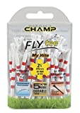 Champ My Hite - Tees de golf, tamaño mm, color rojo