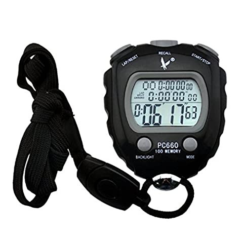 inkint Professional Referee Digital Athletics Stopwatch Clock Electronic Sports Chronograph