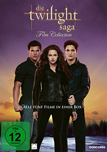 Die Twilight Saga - Film Collection [5 DVDs] (Twilight Filme Dvd)