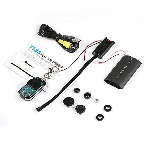 18cm flexibel Long Lens Real H.264720P HD Hidden Spy Kamera Mini Pinhole Cam DVR mit Fernbedienung Videoaufzeichnung Audio Recorder für Home Security DIY
