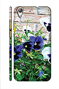 AMAN Colours Flowers 3D Back Cover for Honor 5A