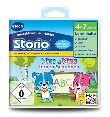 VTech 80-232604 - Lernspiel Nino und Nina lernen Schreiben (Storio 2, Storio 3S)