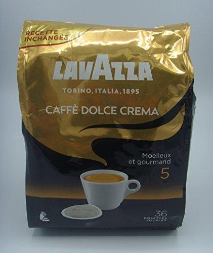 Lavazza CAFFE DOLCE CREMA 36 pads (1 Beutel mit 36 Kaffeepads)