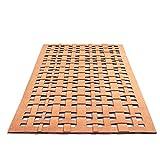 Unbekannt LADP 3505 Cork Weave, Teppich aus Kork, 47 x 90 cm
