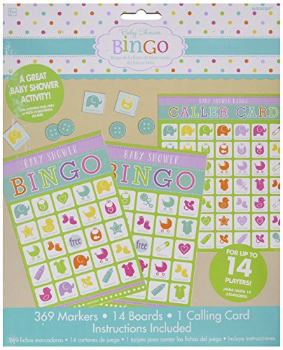 Amscan 380060Babyparty Bingo-Spiel
