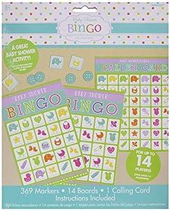 Amscan 380060Baby Shower Juego de bingo