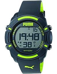 Puma Herren-Armbanduhr Sixty Bytes Digital Quarz Plastik PU911221003