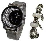 Regalo reloj mujer + pulsera charms perlas colección Dolce Vita