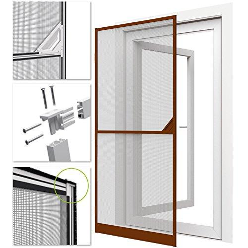 mosquitera-con-marco-de-aluminio-para-puertas-proline-100-x-215-cm-marron