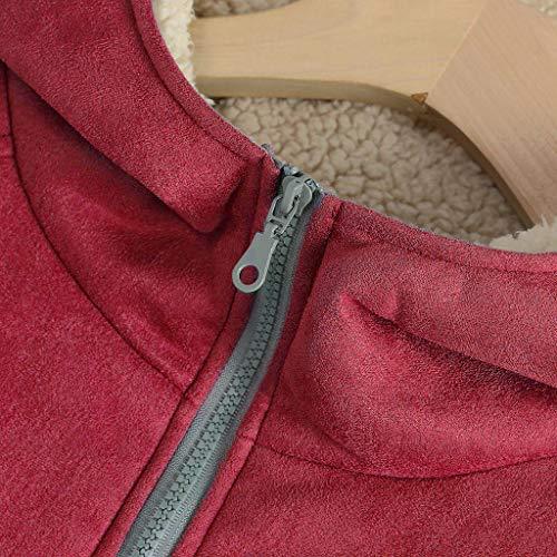 TWIFER Femme à Capuche Femme Hiver Grande Taille Parka Coat Outwear Manches Longues Sweat Veste avec Capuche Dames Manteaux Doublure Polaire Épais Chaud