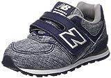 New Balance, Unisex-Kinder Sneaker, Blau (Blue), 23 EU (6 UK Child)