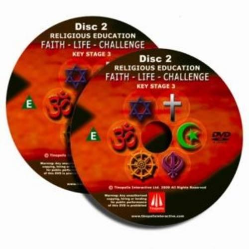 Faith, Life, Challenge: Religious Education Key Stage 3 DVD par Rhian Davies