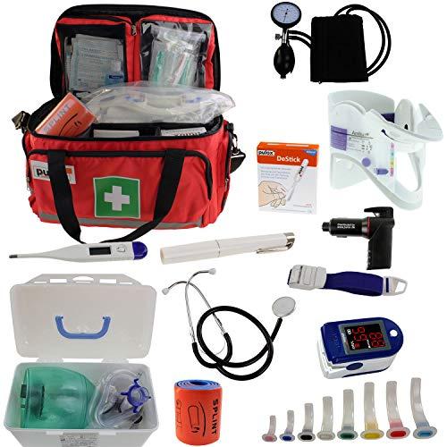 Notfalltasche Pulox Erste Hilfe Tasche - Erste Hilfe Notfalltool Set 44 x 27 x 25cm