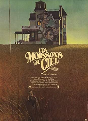 Days of Heaven Plakat Movie Poster (11 x 17 Inches - 28cm x 44cm) (1978) French (Brooke Adams Weihnachten)