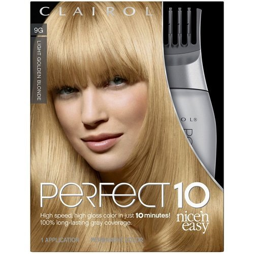 clairol coloration nice n easy perfect 10 coloration riche et ultra lustre couvrant - Coloration Blond Clair Beige
