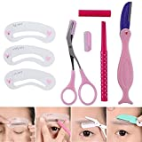 Teenxful 4 kind Eyebrow Grooming Kit