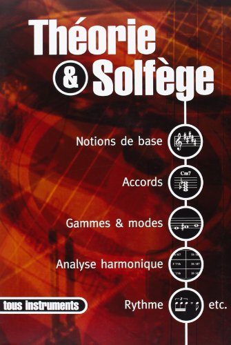 Lamboley Denis Theorie Et Solfege Theory Book French