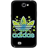 Hot Sell Black Background Adidas Logo Phone Case Cover for Samsung Galaxy Note 3 N9005