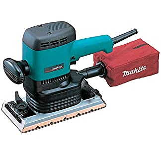 Makita 9046 – Lijadora Orbital 600W 6000 RPM 115X229 Mm 3.1 Kg