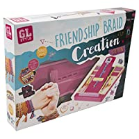GL Style Friendship Braid Creation Station Loom Bead Weave Girls' Fashion Kit