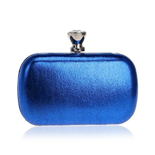 Borsa Da Sera Fzhly Lady Wedding Wedding Clutch Clutch Bag Blu
