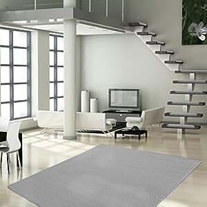 casa pura tapis de salon london gris clair taille. Black Bedroom Furniture Sets. Home Design Ideas