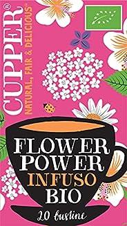 Cupper Tisana Biologica Flower Power (confezione da 20 bustine)