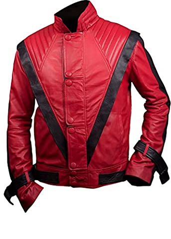 Costumes Thriller - Costumes Parfaits pour Halloween Leatherly Veste Homme
