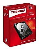 Toshiba P300 3 TB Interne Festplatte (8,9 cm (3,5 Zoll), SATA) schwarz