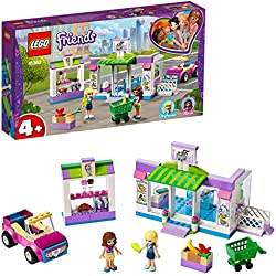 LEGO®-Friends Le supermarché de Heartlake City Jouet pour Fille et Garçon à Partir de 4 Ans et Plus, 140 Pièces 41362