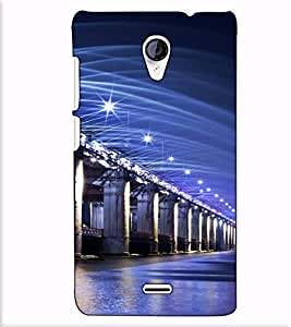 Fuson Designer Back Case Cover for Micromax Unite 2 A106 :: Micromax A106 Unite 2 (Bridge on the sea)