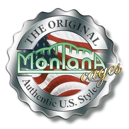 Montana Memphis II Metal Wire Cage with Avilon Powder Coating Bird Cage, 66 x 45 x 144 cm, Platinum 6