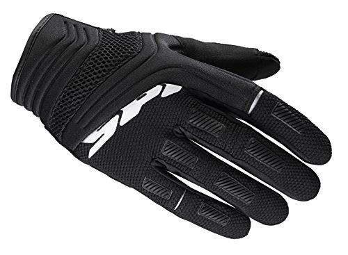 SPIDI B62-026- XL Mega-X Motorcycle Gloves, Black, Size XL