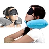 VDNSI Convertible Travel Airplane Pillow, 2 in 1 Comfortable Luxury Neck & Back Support Pillow for Adults and Kids
