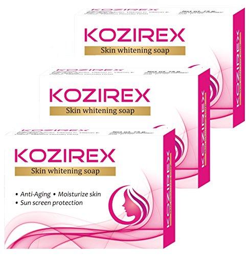 Biotrex Kozirex Skin Whitening Bath Soap, 75gm - Combo Pack of 3