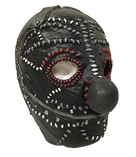Slipknot - Shawn Crahan Stil Latex Clown Maske - universelle (Slipknot Maske Clown)