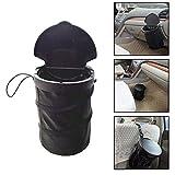 Rokoo Portable Reisen Auto Mülleimer Auslaufsicher Faltbare Pop-up Papierkorb mit Deckel