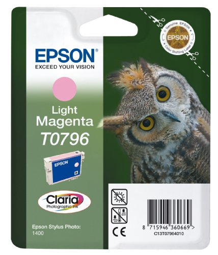 Light Magenta-photo Dye (Epson T0796 Tintenpatrone light magenta, High Capacity)