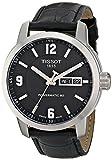 Tissot Herren-Armbanduhr Analog Automatik Leder T055.430.16.057.00