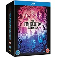 Tim Burton Collection - 8-Disc Box Set ( Batman / Batman Returns / Beetlejuice / Mars Attacks! / Pee-wee's Big Adventure / Charlie and the Chocolate Factory / Sweeney Todd: The Demon Barber