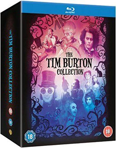 Tim Burton Collection – 8-Disc Box Set ( Batman / Batman Returns / Beetlejuice / Mars Attacks! / Pee-wee's Big Adventure / Charlie and the Chocolate Factory / Sweeney Todd: The Demon Barber (Blu-Ray)