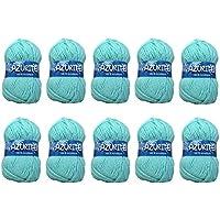26 difusión 10 ovillos de lana para tejer Distrifil AZURITE 3033 barato 3033 100% acrílico