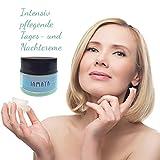 Gesichtscreme Feuchtigkeitscreme mit 24 % Eselsmilch, Coenzym Q10 und Aloe Vera 50 ml - intensive Anti Falten Creme bei trockene Haut und Hautalterung, zur Hautregeneration und bei Neurodermitis