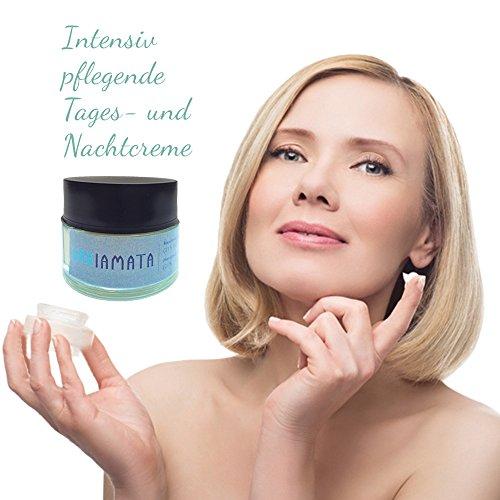 Gesichtscreme Feuchtigkeitscreme Anti Falten Gesicht Creme mit 24 % Eselsmilch, Coenzym Q10 und Aloe Vera 50 ml - zur Hautpflege und Hautregeneration